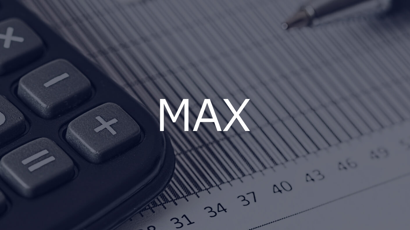 MAX関数