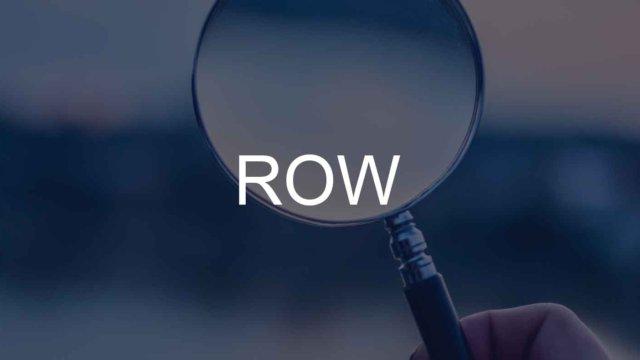 ROW関数