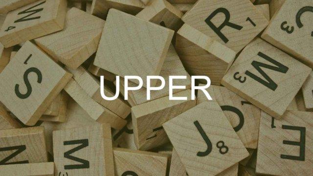 UPPER関数