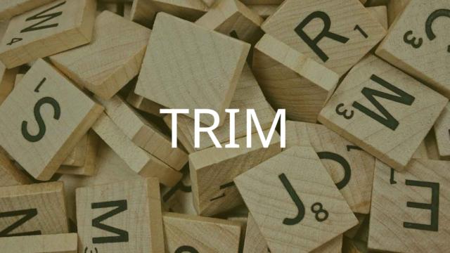 TRIM関数